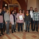 Pfeifenpatenschaft für das Havelberger Vokalensemble
