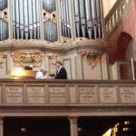 Juli 2016: Danke an Prof. Dr. Eckhardt für das Orgelkonzert